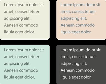 Правильные цветовые комбинации