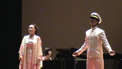 【伊藤セシリア】蝶々夫人をステファノ君と一緒に歌った時のスナップ写真