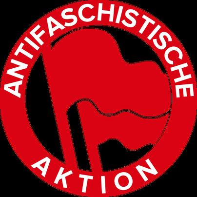 1930年代のドイツで反ファシスト運動のきっかけとなった反ファシストの過激派ネットワーク、「Antifaschistische Aktion」のロゴ。
