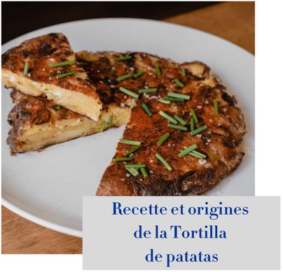 article de blog : recette de la tortilla de patatas