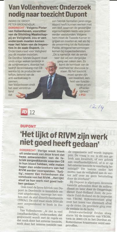 Algemeen Dagblad 12 april 2016
