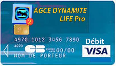 Touchez vos droits de revente Maître sur une Carte debit Visa