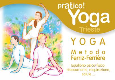 Yoga a trsite, Corsi di Yoga a Trieste, Metodo Ferriz Ferrière, Casa della Cultura D.F.O. Trieste