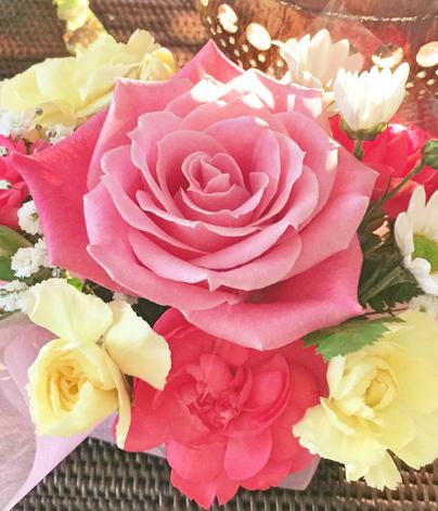 Eさんにもらった可愛いお花♡