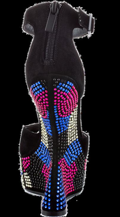 Steve Madden Gimmick Multicolor Ultra Heel Rückansicht