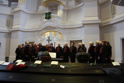 Gottesdienst in der Annenkirche in Dresden Oktober 2014