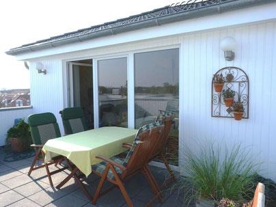 Maisonettewohnung mit Dachterrasse und Garage  -verkauft-