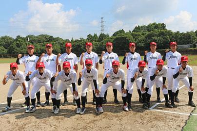 中学・九州選抜ナイン(チーム提供)