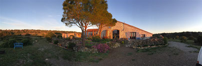 gite dans l'Aude au domaine de castelsec à Roquefort des Corbières clevacances et pays cathare