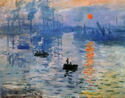 Клод Моне. Впечатление. Восходящее солнце, 1872