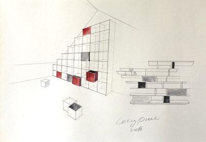 Innenarchitektur zeichnen lernen  Mappenkurs Mal-& Zeichenkurs NRW - Mappenvorbereitungskurs Düsseldorf
