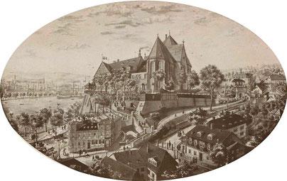 So hat es einst ausgesehen, das Schloss Chemnitz