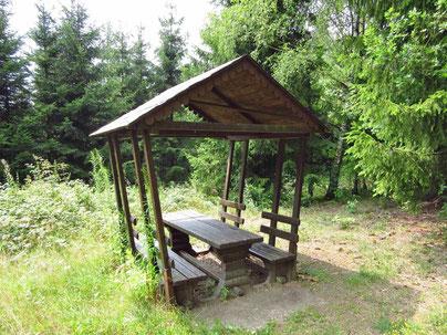 Schutzhütte Hammerwald