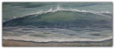 Moderne, schöne maritime Wellen Malerei, Energiebild Pur online kaufen.