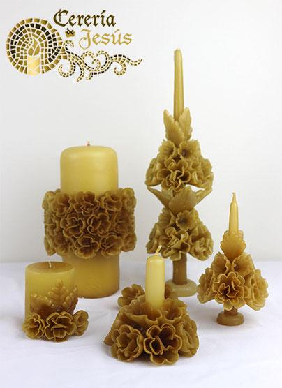 Modelo Capilla con ángeles y flor flotante
