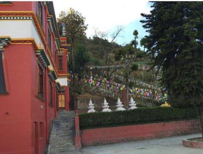 死生観アンケート ネパール寺院