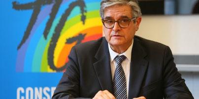 Mr Georges Méric - Président du Conseil Départemental (Crédit Rémi Benoit)