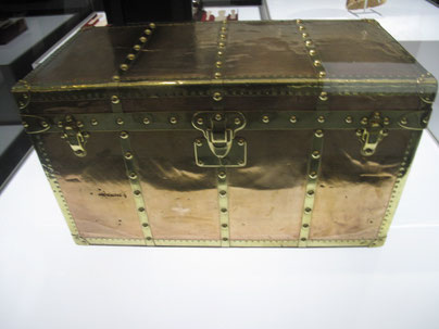 Louis Vuitton trunk Date: 1903 In copper and brass