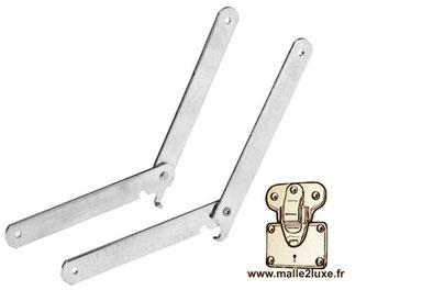 compas d'ouverture malle construire un coffre