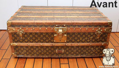 Old cabin trunk LV 1920