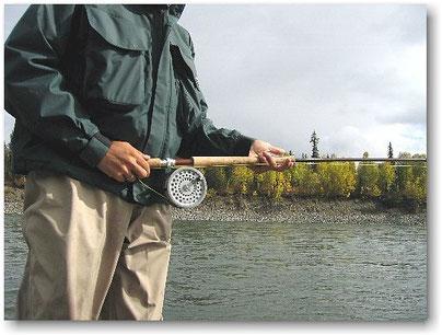 Steelhead Skeena Hardy Marquis Salmon No.3 Sage Spey Rod