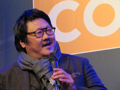 Benedict Wong at Dutch Comic Con