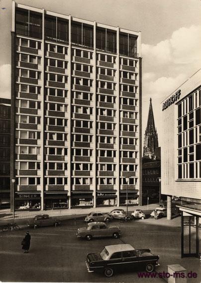 Stadthaus um 1965 - Foto Pohlschmidt-Muddemann