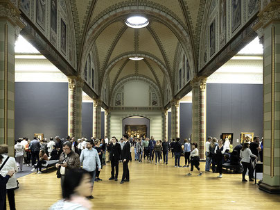 Bild: Ehrenhalle des Rijksmuseum, Amsterdam