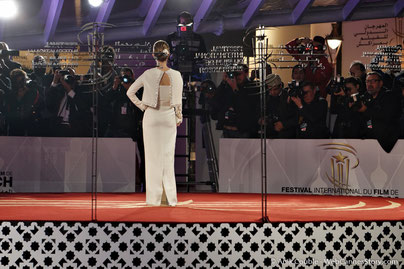 Tapis rouge de la cérémonie d'ouverture - Quentin Tarantino et Daniela Pick - Festival Lumière 2016 - Lyon - Photo © Anik Couble