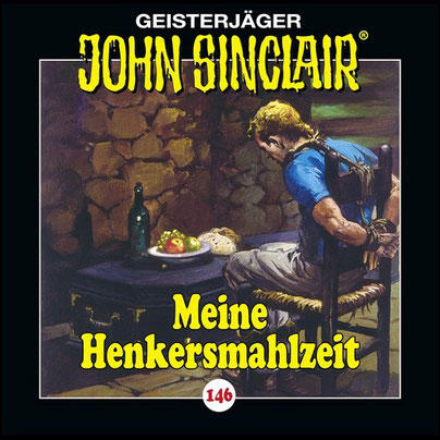 CD-Cover John Sinclair Edition 2000 - Folge 146 - Meine Henkersmahlzeit