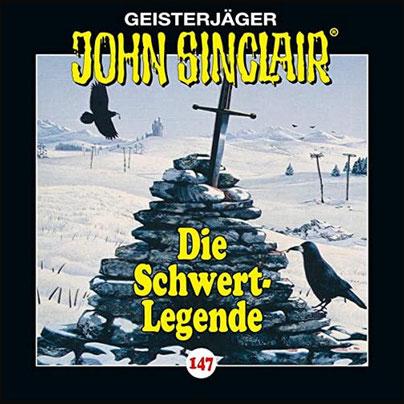 CD-Cover John Sinclair Edition 2000 - Folge 147 - Die Schwert-Legende