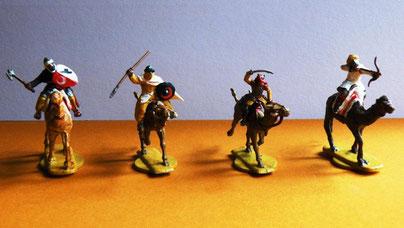 Reiter und Kamele von Hät (El Cid-Reihe) und Italeri