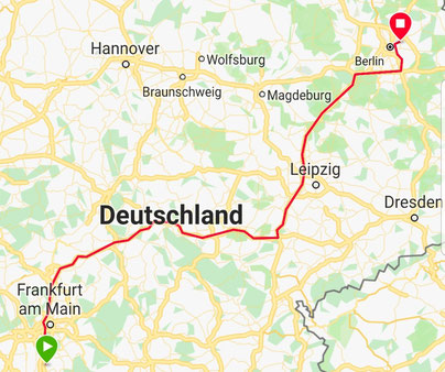 Der Weg nach Berlin