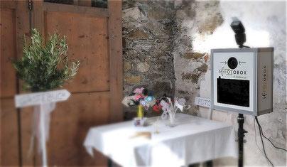 Die Sf-Fotobox im Einsatz bei einer Hochzeit
