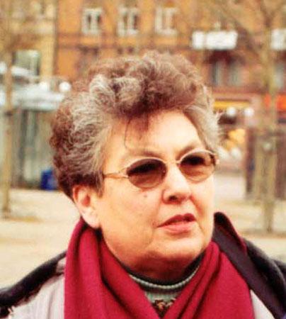Sylvia Skinner in Wiesbaden, März 2005
