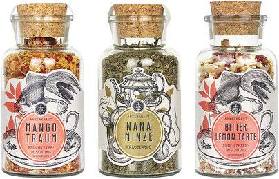 Ankerkraut Tee-Set Seelenstreichler