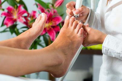 Preise, kosmetische Fußpflege (Pediküre) im Nagelstudio Mainz