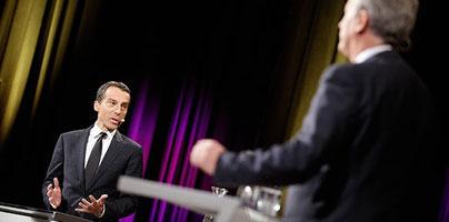 Christian Kern und Reinhold Mitterlehner im Klartext auf Ö1