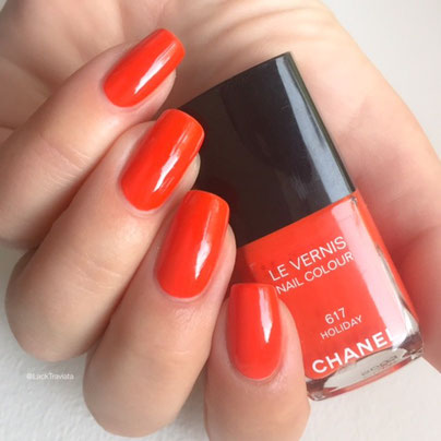 SWATCH CHANEL HOLIDAY 617 by LackTraviata