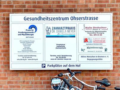 Gesundheitszentrum Ohserstraße  in Bremen Habenhausen  Ohserstr. 2  28279 Bremen