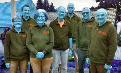Das NPV-Pokal-Team in neuer Teamkleidung
