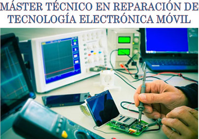 Máster técnico en tecnología móvil,experto en reparación de  smartphones y tablets