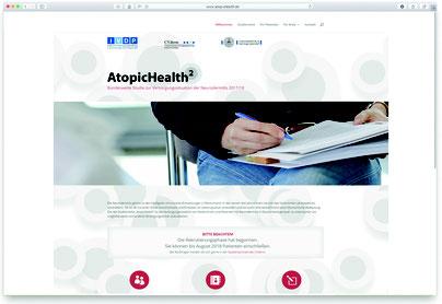 """Mit """"AtopicHealth2"""" befindet sich derzeit der zweite Ableger aus der gleichnamigen Studienreihe in der Phase der Datenerhebung. (Foto: www.atopichealth.de)"""