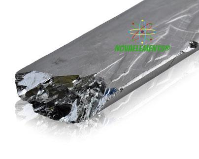 tellurio metallico, tellurio cristalli, tellurio cub acrilico, nova elements tellurio elemento da collezione