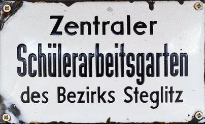 Emaille-Schild
