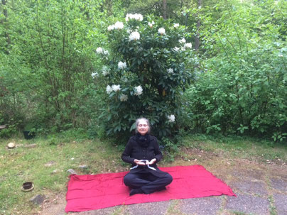Zweite Phase der Nadabrahma im Osho Mani Garten