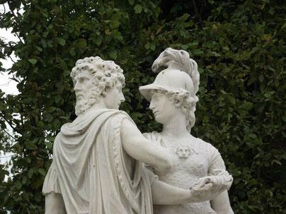 Janus and Bellona, Schonrunn Palace, Vienna, Austria