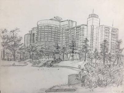 大阪の堀江アートスクールは、漫画・イラストだけでなく、絵の基礎となるデッサンも習えます。