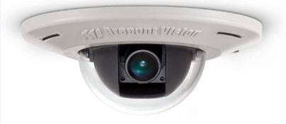 MicroDome® IP camera von Arecont Vision (Einbaumontage), presented by SafeTech