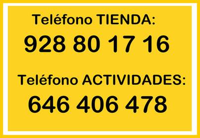 Teléfono Herbolario Alquimista Arrecife Lanzarote